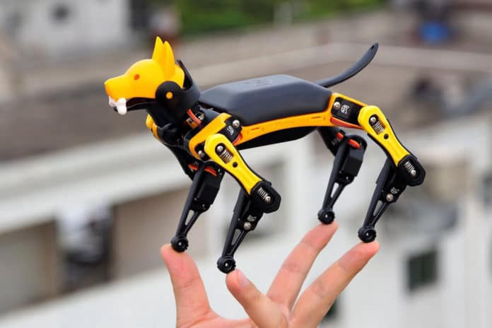 Bittle, le tout dernier robot à monter et à programmer soi-même