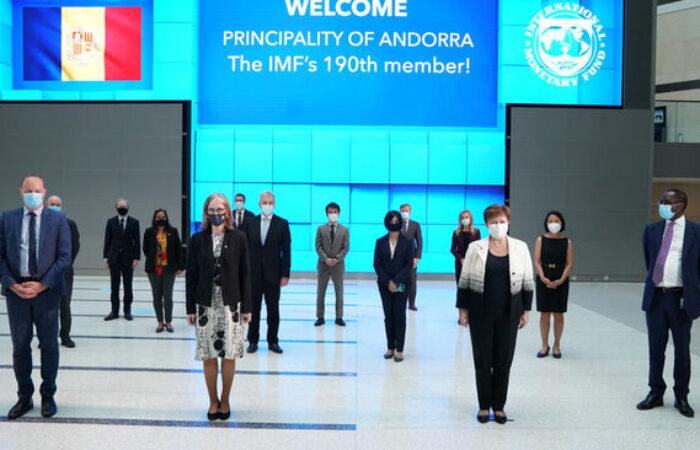 Andorra esdevé el 190è membre de l'FMI