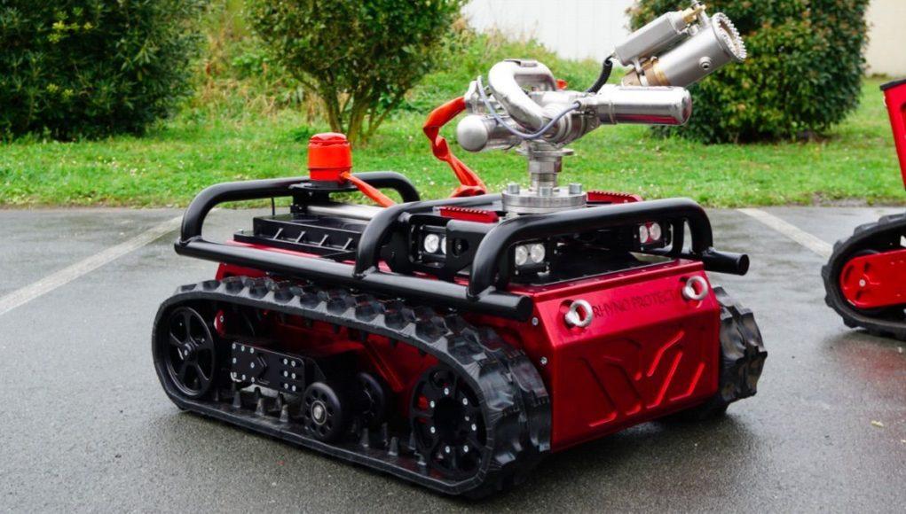 RhynoProtect, un robot dans la lutte contre le Coronavirus