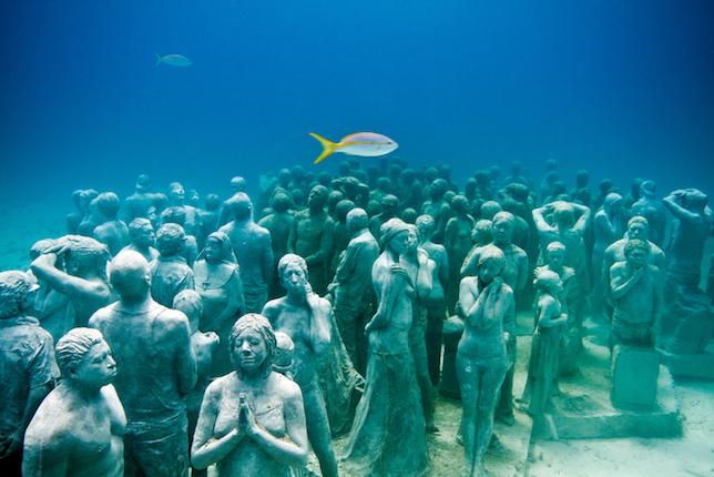 Cancún Underwater Museum Cancún Mexico 7