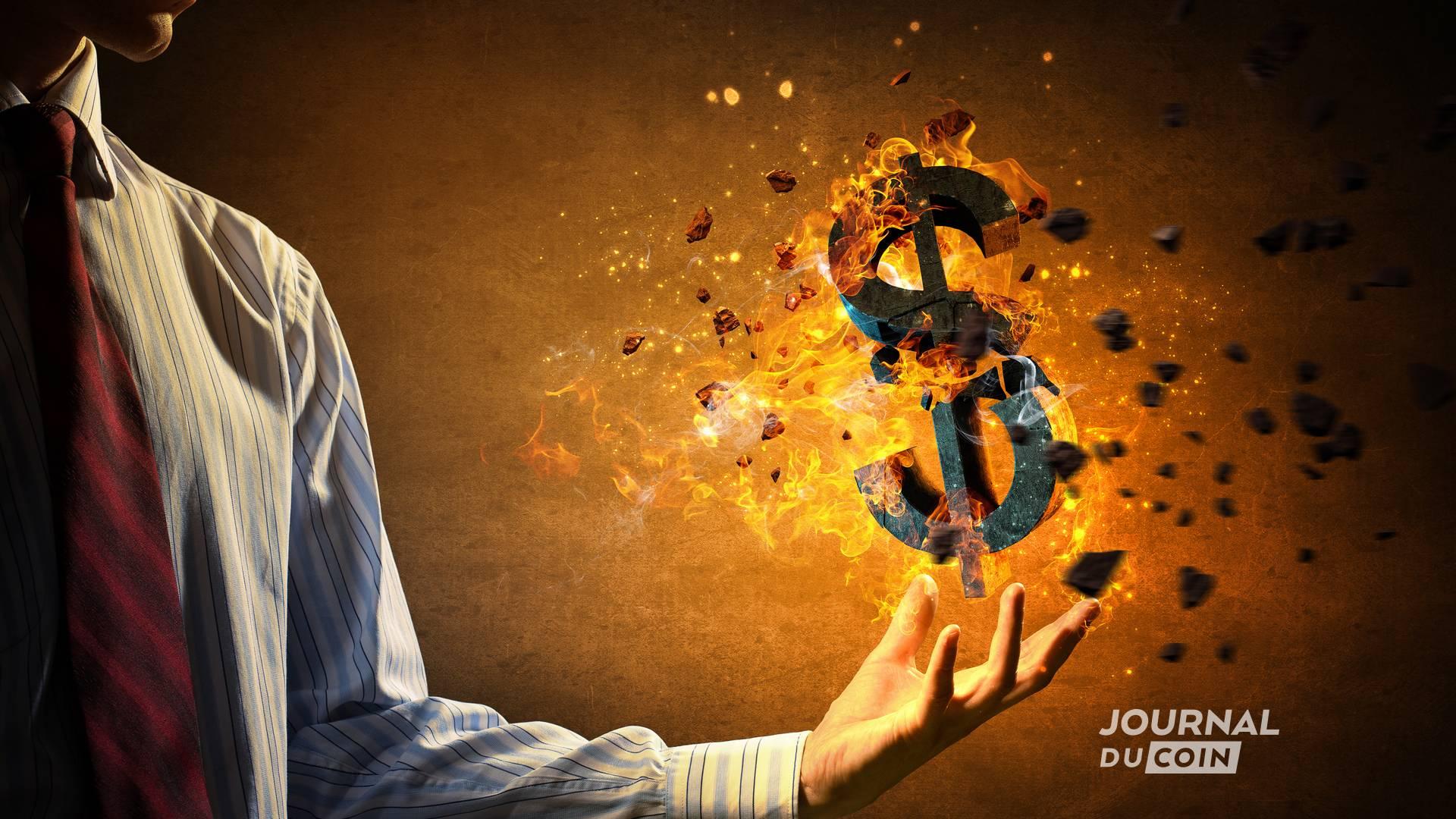La guerre froide des monnaies continue Pourquoi le Trésor Américain envisage un crypto-dollar