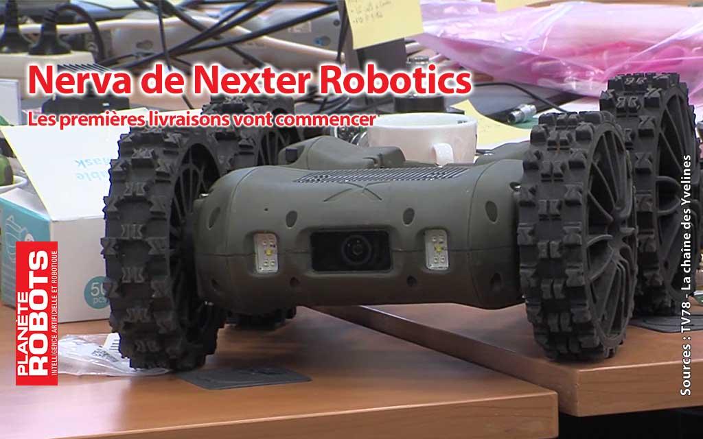 Nerva de Nexter Robotics, prochainement les premières livraisons