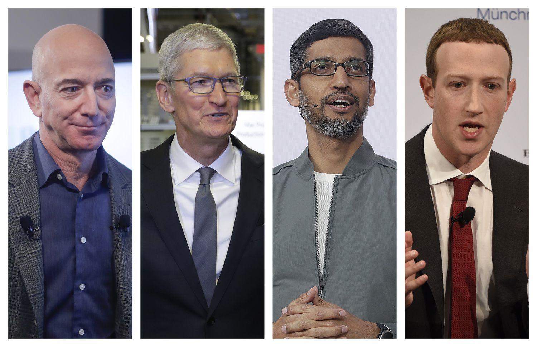 Un comité del Congreso de EE UU reclama leyes más duras por abuso de poder de Amazon, Google, Facebook y Apple