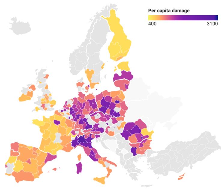 pollution air europe